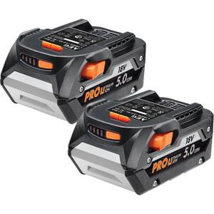 AEG 18V 5.0ah Twin Battery Pack - L18502RC