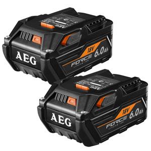 AEG 18V 6.0ah FORCE Twin Battery Pack - L18602R-X5