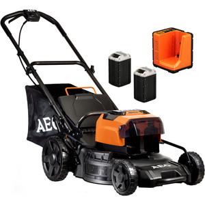 """AEG 58V 4.0ah 18"""" Brushless Lawn Mower Kit - ALM58LI402"""