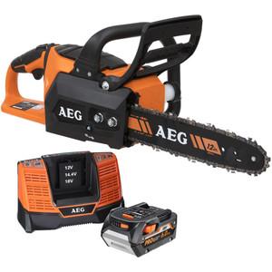 "AEG 18V 6.0ah 12"" Chainsaw Kit - ACS18BS6"