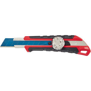 Milwaukee 18mm Snap-off Knife Withe Metal Lock and Precision Cut Blade - 48221961