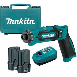 Makita 7.2V Driver Drill Kit - DF012DSE