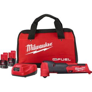Milwaukee M12 FUEL Multi-Tool Kit (With 2.0Ah Battery) - M12FMT-202B