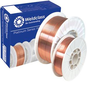 Weldclass Wire - MIG Steel PLATINUM XT6 (ER70S-6) 200mm/5kg Spool 0.8mm - 2-XMS608/08