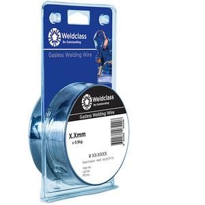 Weldclass Wire - Gasless Mini-Spools 100mm/0.9kg Spool 0.8mm - P2-084FM