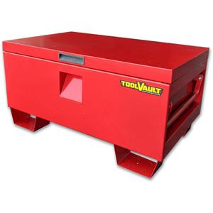 ToolVault L865mm x H430mm Steel Site Box 200L - TVSB200R