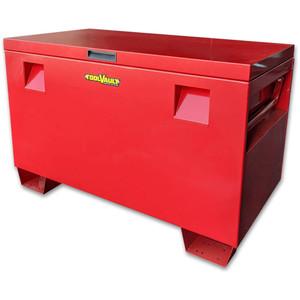 ToolVault L1100mm x H690mm Steel Site Box 440L - TVSB440R