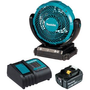 """Makita 18V 180mm (7-1/8"""") Jobsite Fan Kit - DCF102ST"""