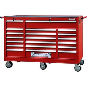 Sidchrome 20 Drawer Triple Bank Roll Cabinet - SCMT50273