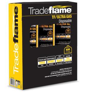 Tradeflame TF/ULTRA Gas Cartidge - 3pk - 326439PK