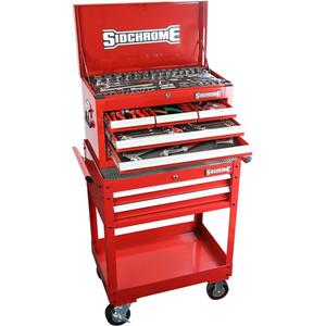 Sidchrome 147 Piece Metric A/F Tool Kit - SCMT11705