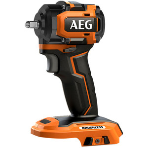 """AEG 18V 1/2"""" Brushless Sub Compact Impact Wrench - BSS18S12BL0"""