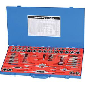 Kincrome 87 Piece Tap & Die Set NC / NF / Metric - K12087