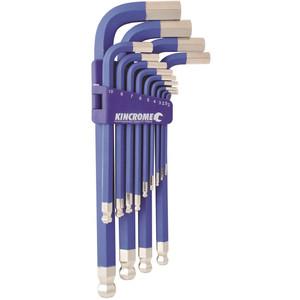Kincrome Ball Joint Jumbo Key Wrench Set 13pce Metric - K5092