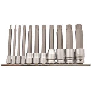Kincrome Spline Bit Set 11pce 100mm - K5227