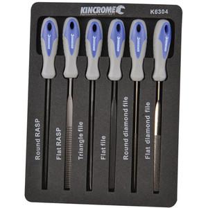 Kincrome Mini File Set 100mm 6 Pce - K6304