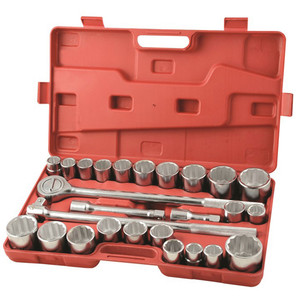 Supatool Socket Set 26pce 3/4 Drive Metric and Imperial - S2002