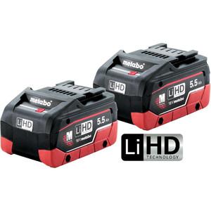 Metabo 18V 5.5Ah LiHD Battery Twin Pack - 5.5LiHDTP