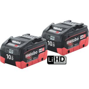 Metabo 18V 10.0Ah LiHD Battery Twin Pack - 10.0LIHDTP