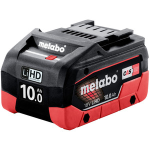 Metabo 18V 10.0Ah LiHD Battery Pack - 10AHLIHD