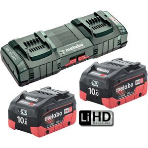 Metabo 18V 10.0Ah LiHD Duo Kit - 10.0LIHDDUOKIT