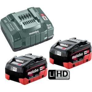 Metabo 18V 5.5Ah LiHD 145 Kit - 5.5LIHD145KIT