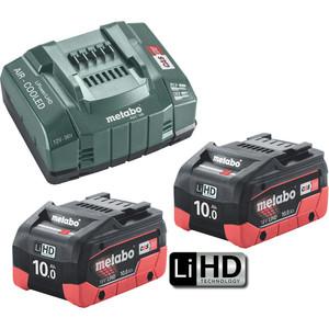 Metabo 18V 10.0Ah LiHD 145 Kit - 10.0LIHD145KIT
