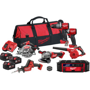 Milwaukee M18 FUEL™ 7 Piece Power Pack 7P2 - M18FPP7P2-503B