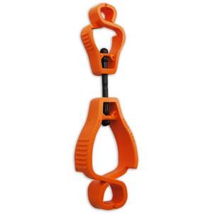Sureguard Multi purpose glove clip-Orange Poly Bag - MPC-FLOR