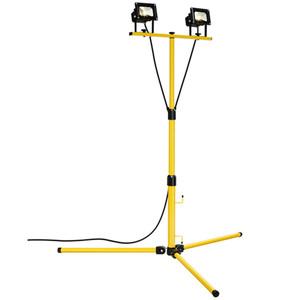 HPM FORTA LED Worklight Tripod 2 x 10W 1460lm Cool White - LWK0220WBL