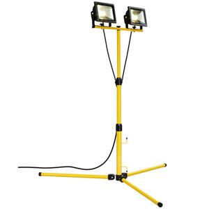 HPM FORTA LED Worklight Tripod 2 x 20W 3230lm Cool White - LWK0240WBL