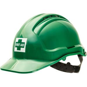 Sureguard First Aid warden cap - Green - TG57-GR-FA-CAP