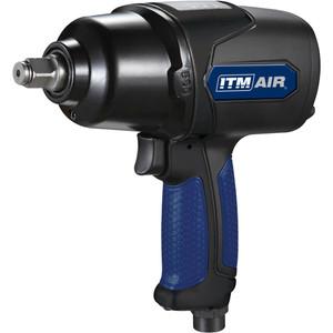 "ITM Impact Wrench, Pistol Style, 1/2"" Dr, 500 Ft/Lb, 2.59Kg - TM340-135"