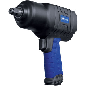 """ITM Air Impact Wrench, Pistol Style, Composite, 1/2""""Dr, 625 Ft/Lb (850Nm) - TM340-136"""