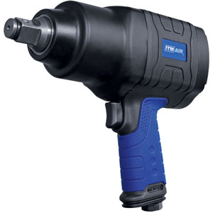 """ITM Air Impact Wrench, Pistol Style, Composite, 3/4""""Dr, 885 Ft/Lb (1200Nm) - TM340-145"""
