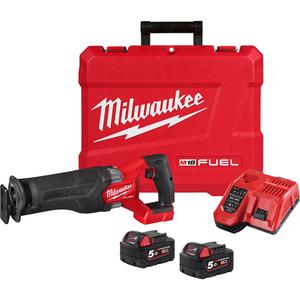 Milwaukee M18 FUEL™ SAWZALL™ Reciprocating Saw Kit - M18CSX2-502C