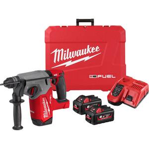 Milwaukee M18 FUEL™ 26 mm SDS Plus Rotary Hammer Kit - M18FH-602C