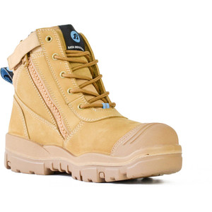 Bata Safety Boots Horizon Sole Scuff Cap Zip - Size 5 - 75683964-050