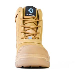 Bata Safety Boots Horizon Sole Scuff Cap Zip - Size 7.5 - 75683964-075