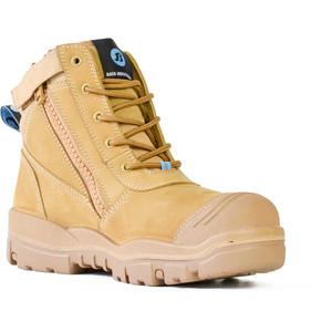 Bata Safety Boots Horizon Sole Scuff Cap Zip - Size 8 - 75683964-080