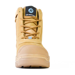 Bata Safety Boots Horizon Sole Scuff Cap Zip - Size 9.5 - 75683964-095
