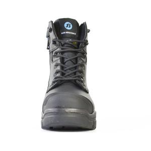 Bata Safety Boots LongreachZip Sided Composite Toe Cap-Black - Size 3 - 70566146-030