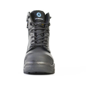 Bata Safety Boots LongreachZip Sided Composite Toe Cap-Black - Size 9.5 - 70566146-095