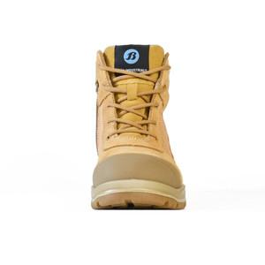 Bata Safety Boots Dakota - Wheat Zip Ladies - Size 10 - 50488017-100