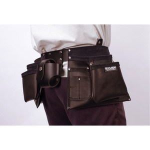 Buckaroo Apron Style Tool Belt Black - TMABB