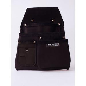 Buckaroo 3 Pocket Low Drop Bag - Black - NBF3B