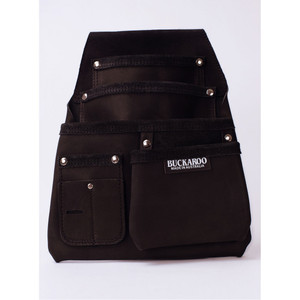 Buckaroo 4 Pocket Low Drop Bag - Black - NBF4B