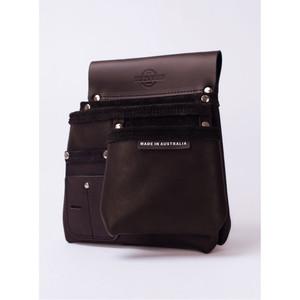 Buckaroo 3 Pocket Nailbag - Black - NBS1B