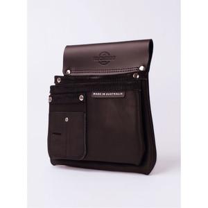 Buckaroo 2 Pocket Nailbag - Black - NBS2B