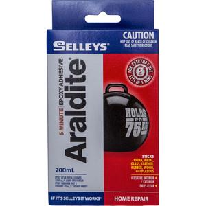 Selleys 200ml Araldite 5 Minute Epoxy Adhesive - 100017